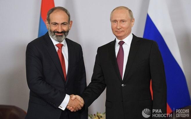 Putin-Paşinyan gərginliyi dərinləşir: