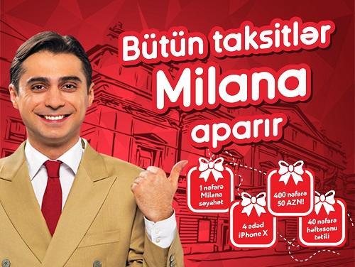 """""""Bütün taksitlər Milana aparır"""" lotereyasının I tirajı keçirildi"""