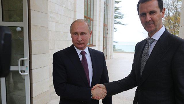 اسد پوتینین آداملاری ایله گؤروشدو: تضییق گؤستریرلر