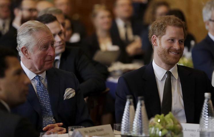 Britaniya şahzadələri Trampla görüşdən imtina etdi