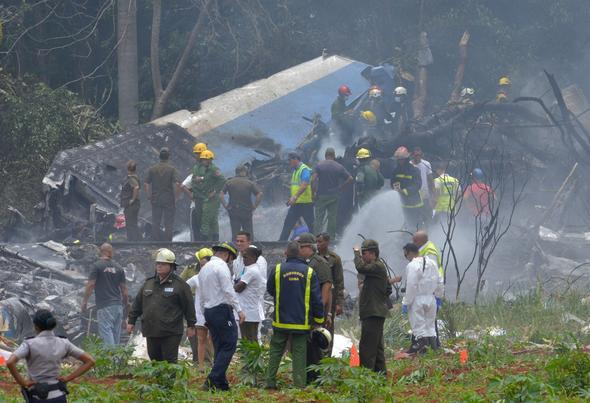 Flight recorder of crashed Boeing 737 found in Cuba