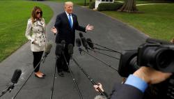 Меланья Трамп вернулась в Белый дом после операции