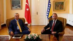 Bosnian leader asks Turks to help Erdogan