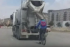 Bakıda velosipedçidən təhlükəli hərəkət - Video