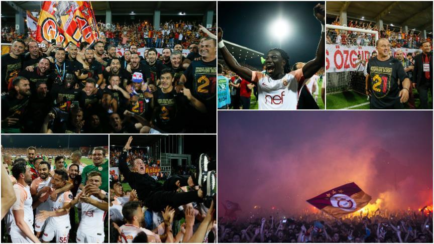 «Галатасарай» в 21-й раз стал чемпионом Турции