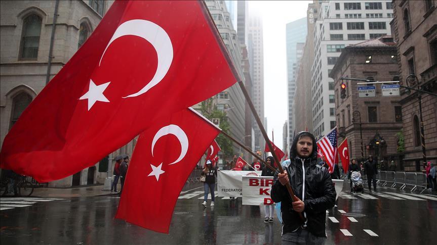 В Нью-Йорке прошел Турецкий парад - Фото