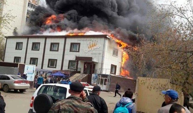 قازاخیستاندا دهشتلی یانغین: ۳۵ نفر...