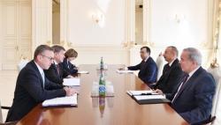 Ильхам Алиев принял гендиректора