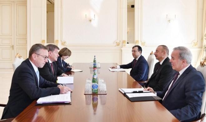 President Ilham Aliyev receives ILO Director-General