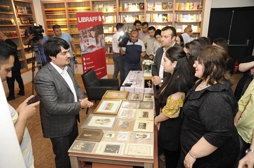 Nadir materiallar Gəncədə sərgiləndi - Foto