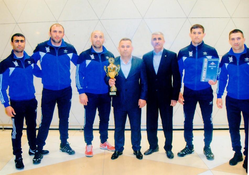 DİN-nin komandası Belarusda bürünc qazandı