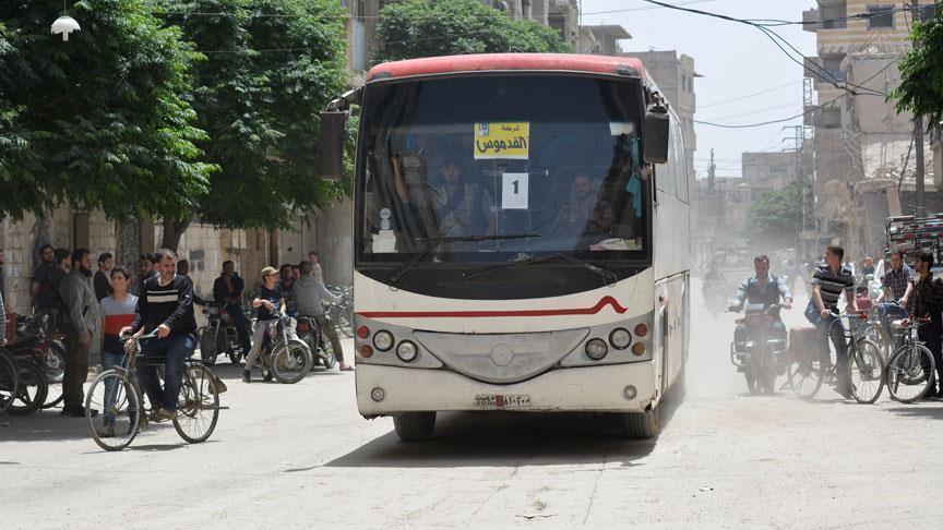 Террористов ИГ эвакуируют из пригорода Дамаска