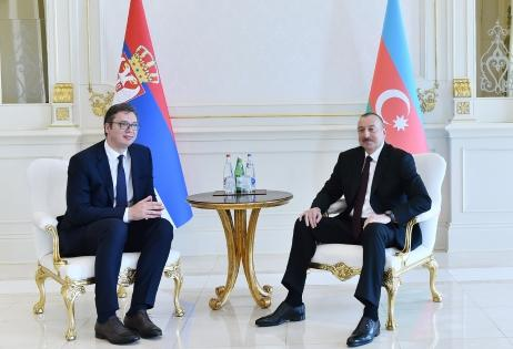 President of Serbia made a phone call to Ilham Aliyev