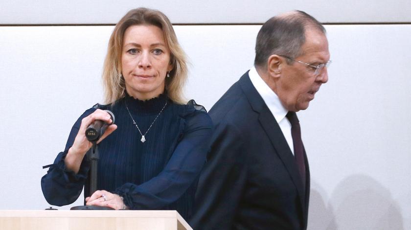 """""""Lavrovun getməsi"""" sifarişdir - Zaxarova"""