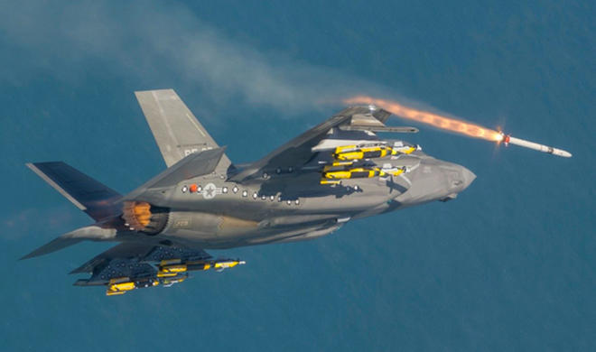 Истребитель F-35 впервые применил в бою Израиль