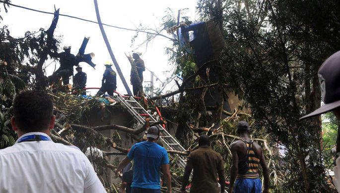 Увеличилось число жертв крушения самолета на Кубе