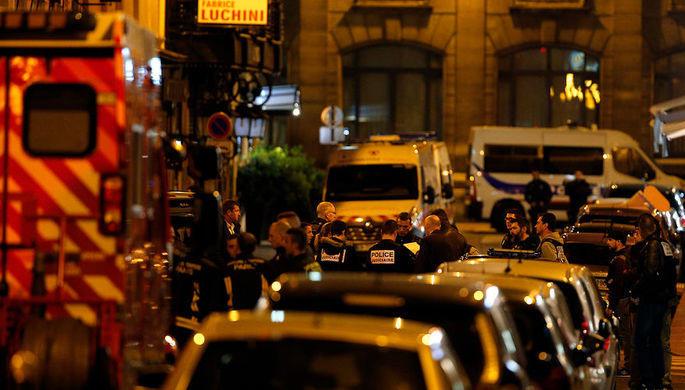 В Париже начались беспорядки
