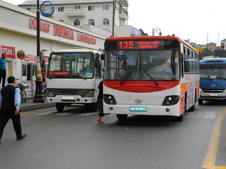 Bakıda avtobusda insident: cinayətkar tərksilah edildi