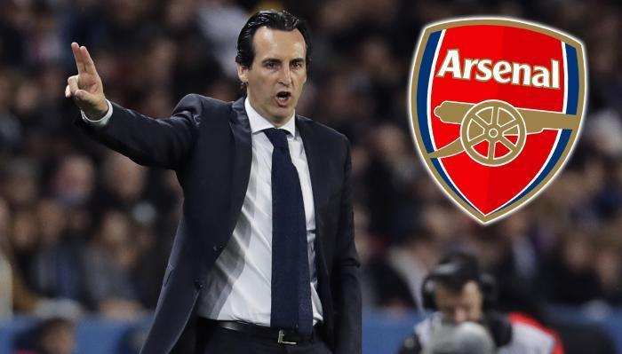 Former PSG coach Emery named as new Arsenal manager