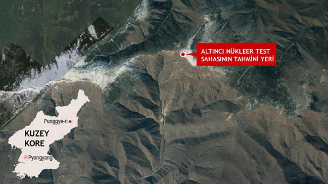 Şimali Koreya nüvə poliqonunu dağıdır - Foto