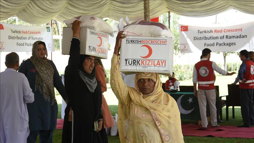 Турция оказывает гумпомощь Пакистану