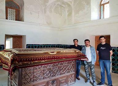 Komissiya üzvləri Şeyx Cüneydi ziyarət etdilər - Foto