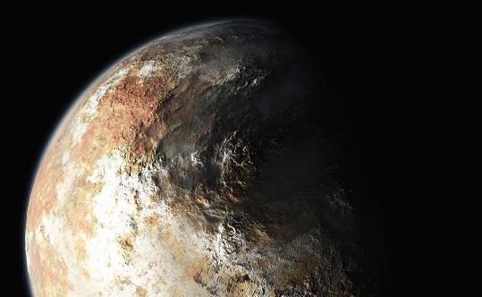 Плутон возник при слиянии миллиарда комет