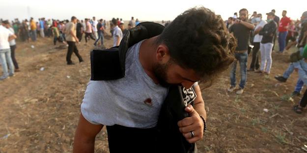 İsrail hərbçiləri ilə toqquşmada 122 fələstinli yaralandı