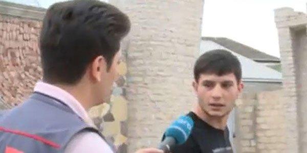 Reyddə jurnalistə hədə-qorxu gəldilər - Video