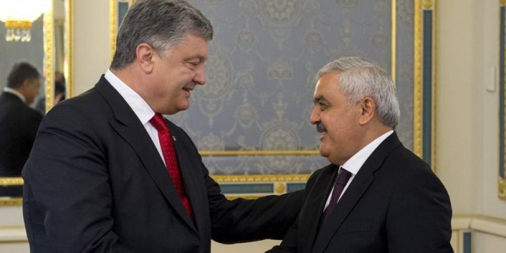 SOCAR şefi Poroşenko ilə görüşdü - Müzakirə