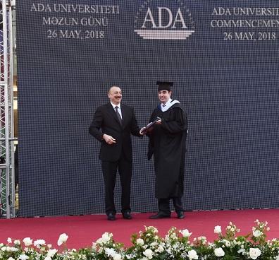 Heydər Əliyev məzun oldu: Prezident ADA-da - Foto