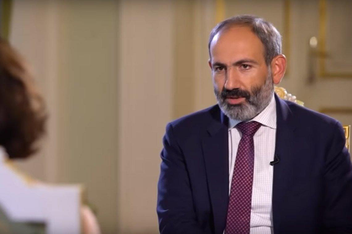 Pashinyan sent three representatives to Iran