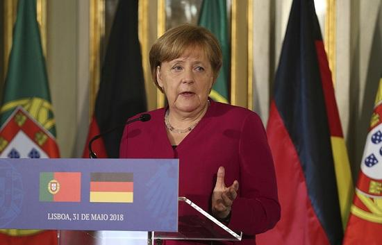 Germany urges peaceful solution to Iran crisis