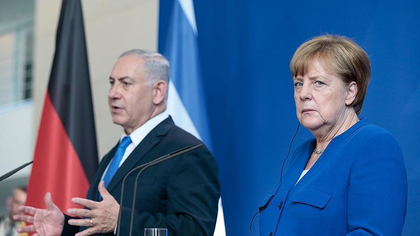 Merkel spoke with Netanyahu
