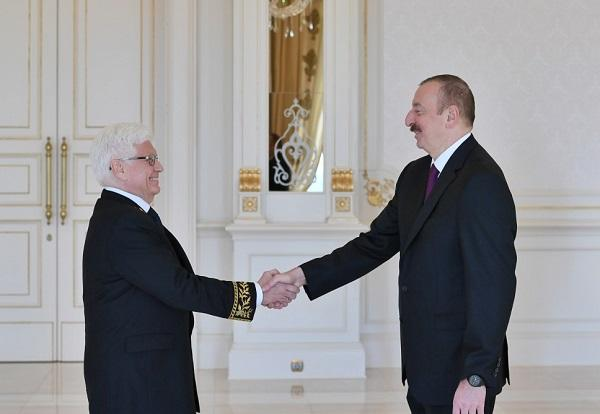 Ilham Aliyev has accepted Ambassadors -
