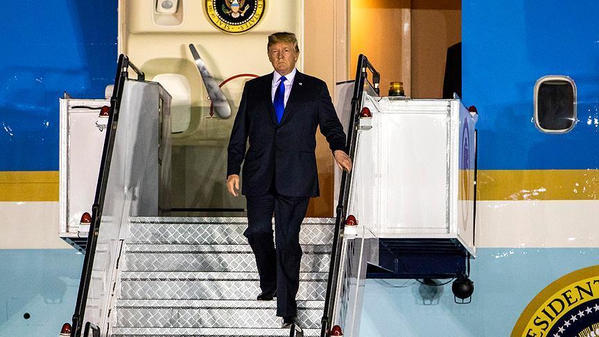 Tramp Londona gedir - Liderlərlə görüşəcək