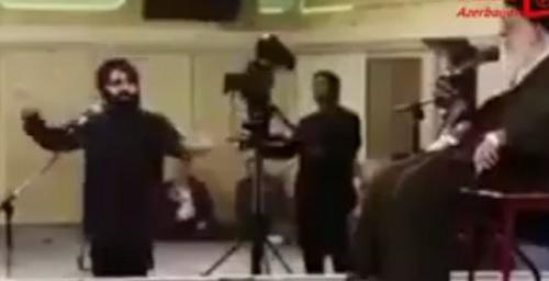 """Xameneinin də olduğu məclisdə """"əzadar-rəqqas""""? – Video"""