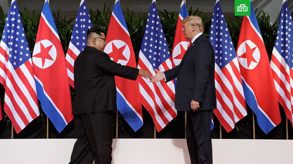 Трамп намерен вновь встретиться с Ким Чен Ыном