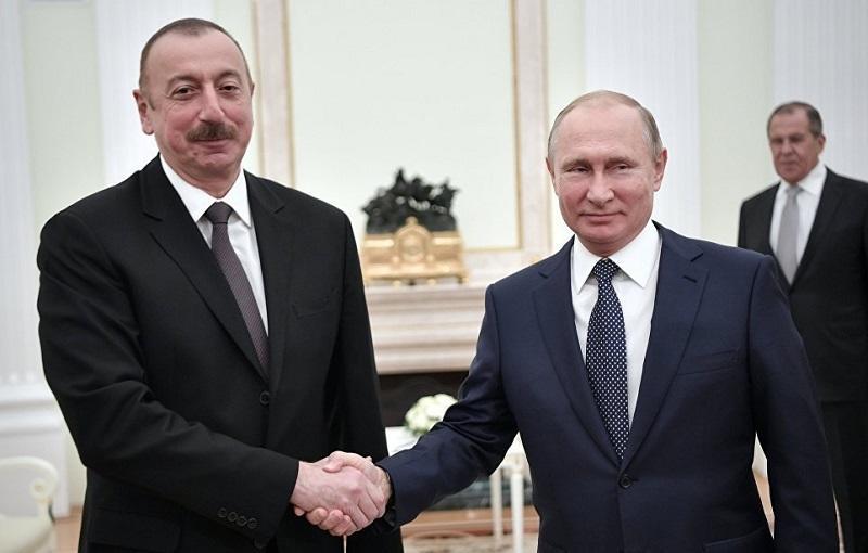 Putin called Ilham Aliyev