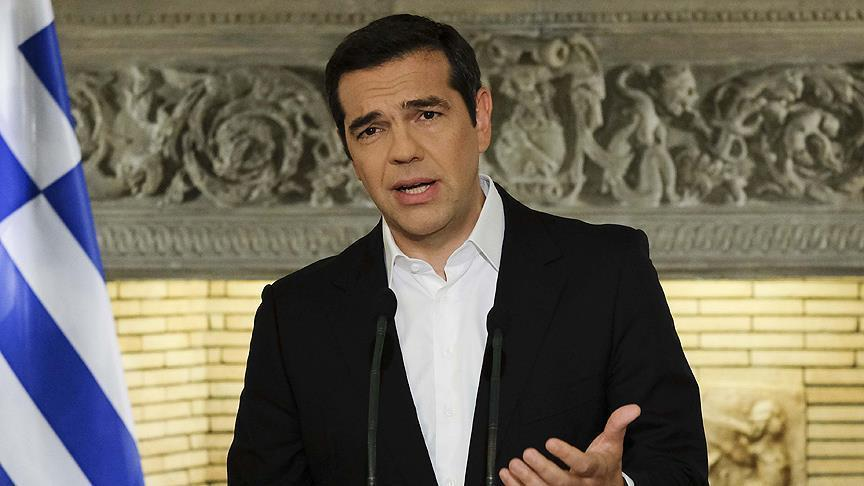 Tsipras condemns Athens bombing