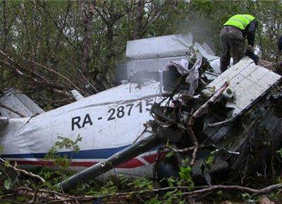 В Мексике упал самолет, 4 погибших
