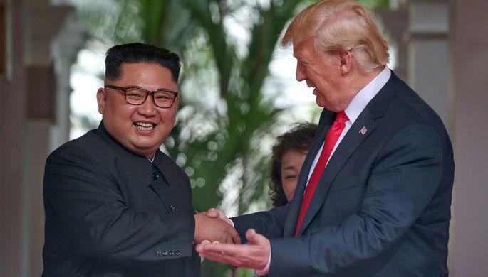 Трамп назвал Кима «великим переговорщиком»
