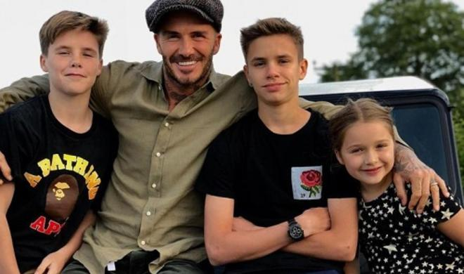 David Beckham's letter from Harper will warm coldest of hearts