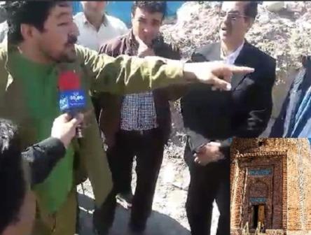 Sakinlərdən etiraz: Min illik Azərbaycan türbəsi dağılır
