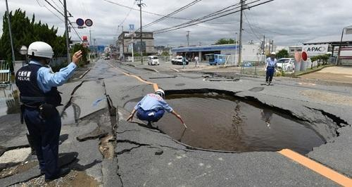 چینده دهشتلی زلزله: ۵.۷ بال