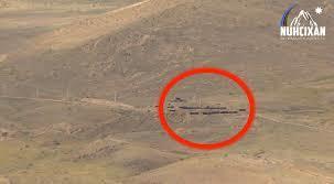 Ordumuzun atəşi altına düşən erməni postları - Video