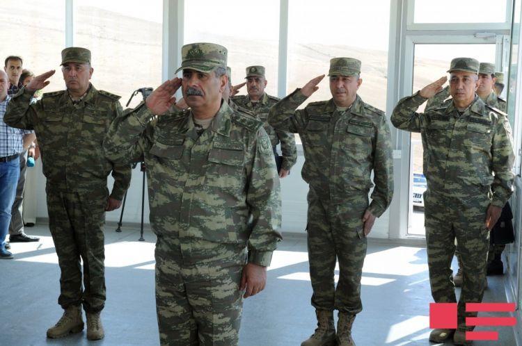 Ordumuz döyüş əmrini yerinə yetirməyə hazırdır - Nazir