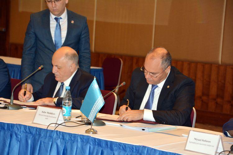 DGK ilə ASK arasında memorandum imzalandı - Foto