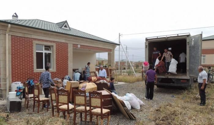 В Джоджуг Марджанлы переселилось более 50 семей