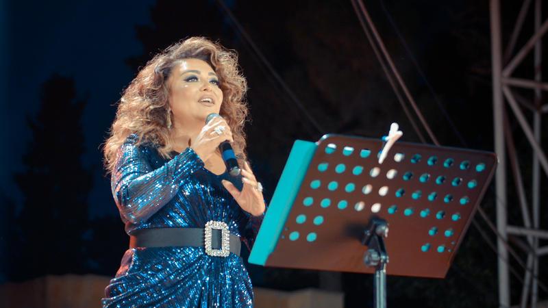Nəzakət Teymurova Yaşıl Teatrda konsert verdi - Foto
